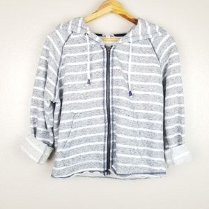 Gap Striped Zip-Up Jacket